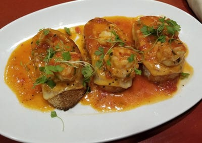 Shrimp Carrozza